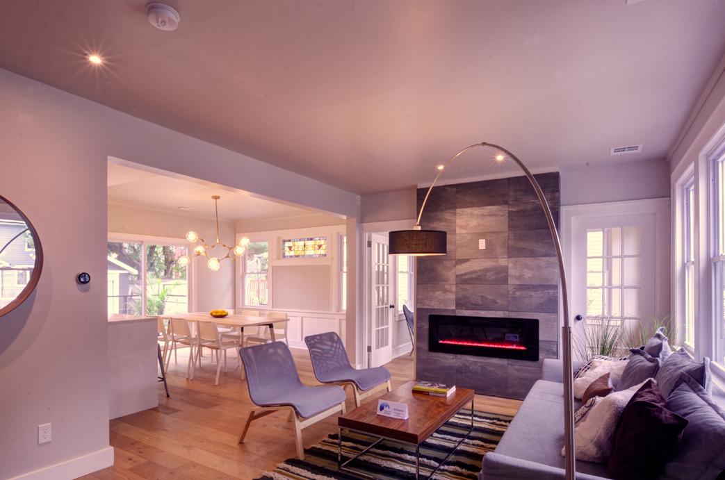 Livingroom Newark renovation