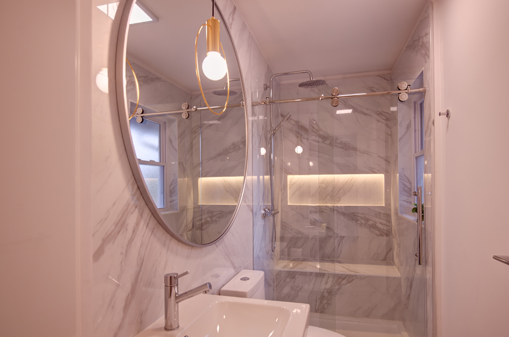 Newark renovation Main Bathroom