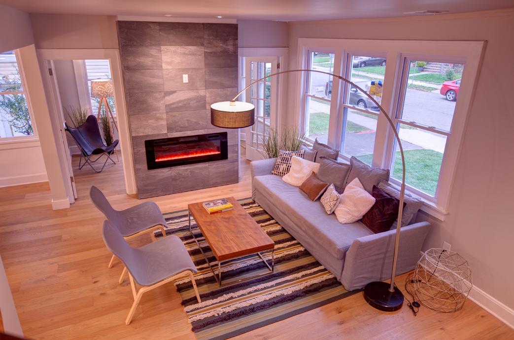 Newark renovation Living Room